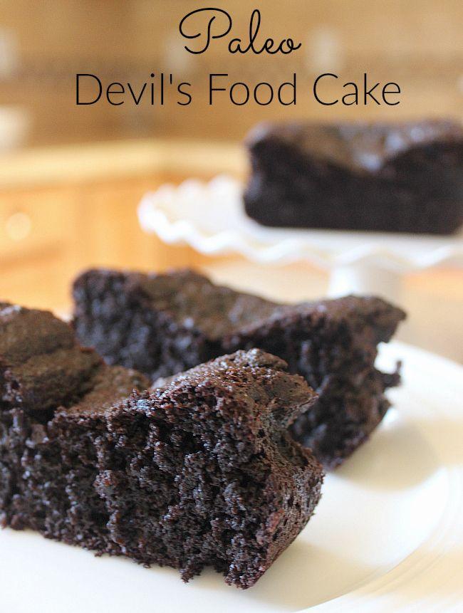 Devil S Food Cake Gluten Free