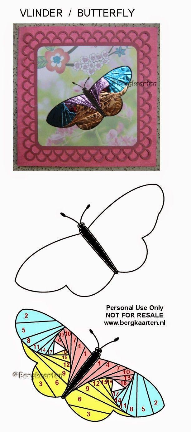 Iris Folding: Butterfly