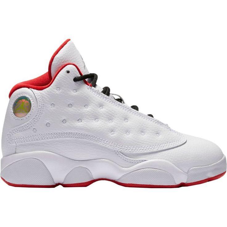 Jordan Kids' Preschool Air Jordan 13 Retro Basketball Shoes, Boy's, Gray