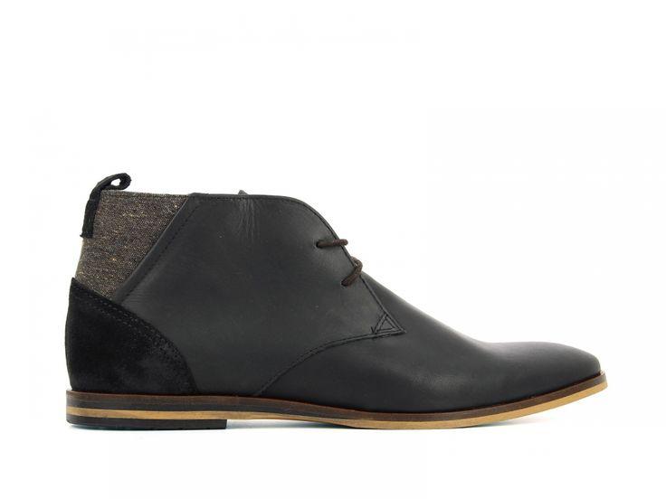 Inside | Schmoove - Swan Desert Dani Picasso Black Marron | Magasin de vêtement, vente en ligne chaussure