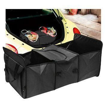 Description:Are you angry when you open your car trunk after driving and you see a mess?This new car trunk organizer helps you in any situation when you need to transfer cargo to your trunk and keep it in.Main Features:EASIER SHOPPING:...