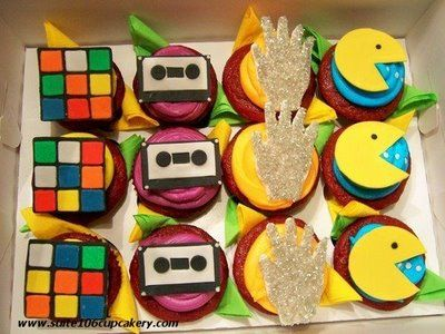 Just the cookies, cupcakes weren't a thing in the 80's