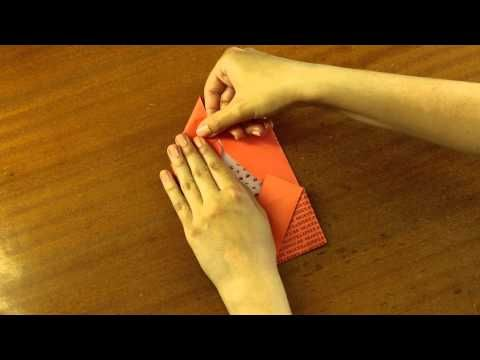 Ako zabaliť poukaz- Obálka 2 - YouTube