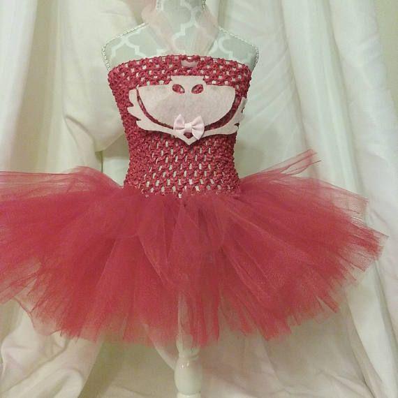 PJ Masks  8 Inch Red Crochet Top  8 Inch Red Tutu DressRTS