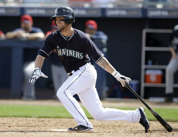 Seattle Mariners' Nick Franklin follows through on a two