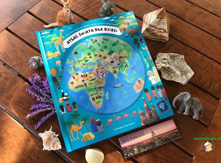 Dla wszystkich miłośników podróży i tych którzy chcą poznać bliżej otaczającą nas planetę zapraszam do lektury nietypowego Atlasu świata dla dzieci z Wydawnictwa Piętka. To lektura która zainteresuje dzieci starszych grup przedszkolnych, a także bardzo przyda się uczniom, więc jeżeli macie w domu ma
