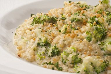 Risoto de quinoa com brócolis - Receitas - GNT