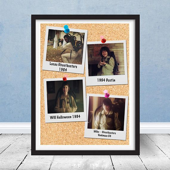 The 25 best kids ghostbuster costume ideas on pinterest stranger things season 2 kids halloween ghostbuster costume polaroid pictures replica print 798 free shipping negle Image collections