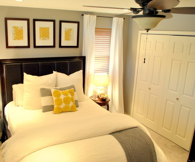 Small High Impact Decor Ideas: Love The White, Grey, And Yellow With Bits Of Black. Also