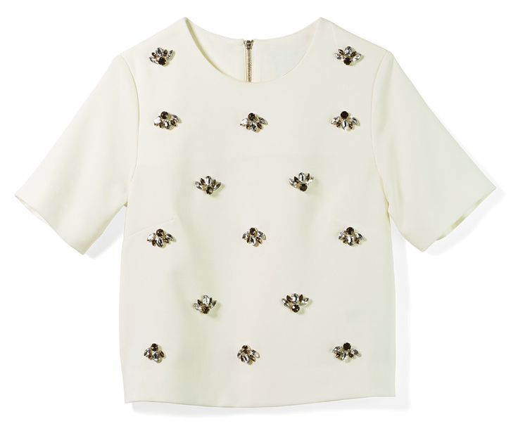 Jeweled Blouse, H&M #STCLuxeGuide #Toronto #Fashion #Holiday