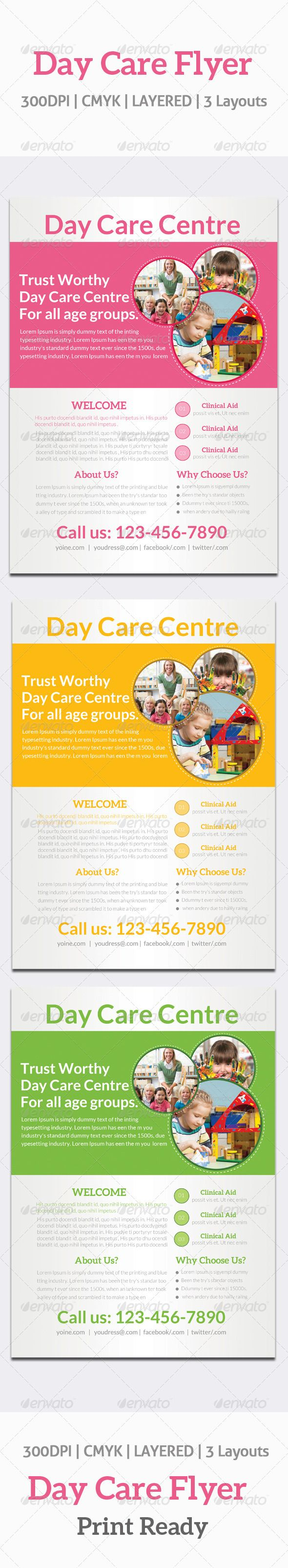 best images about print templates fonts flyer day care flyer template graphicriver