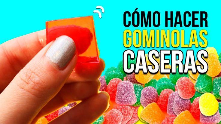 Cómo hacer GOMITAS CASERAS muy fácil * RECETA de gominolas DIY