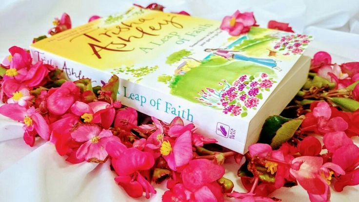 A Leap of Faith by Trisha Ashley. Could having a baby be the biggest leap of all https://readthewriteact.com/2017/01/10/a-leap-of-faith/