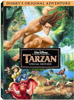 Tarzan | DVD | Raised by gorillas, Tarzan has made the jungle his home and the animals his friends. But with the appearance of humans, the only world Tarzan has ever known and the one in which he belongs are about to become one.