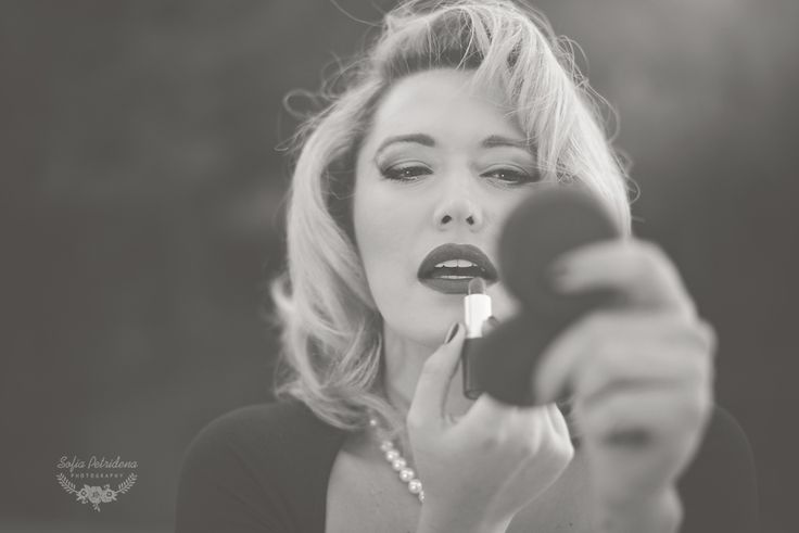 40s glam inspiration / Creative Concept, vintage, Marilyn Monroe photoshoot