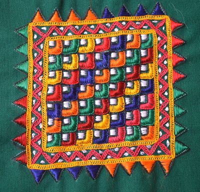Embroidery Motif From Kutch | Traditional Embroidery | Pinterest | Embroidery Mirror And Mirror ...