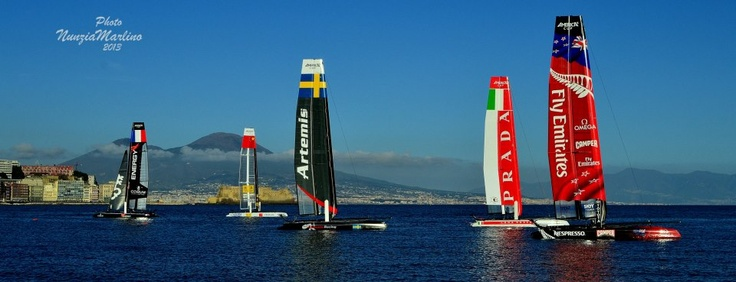 America's Cup Race, Napoli