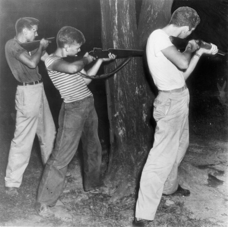 Young WW2 Vets, Battle of Athens, Tennessee (1946)