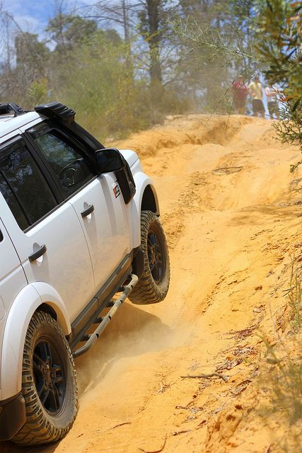 Rock / tree sliders Australian off roading. Land Rover Discovery 4