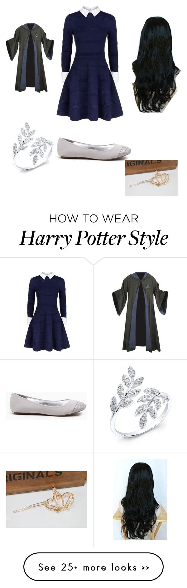 """Harry Potter: Ravenclaw"" by friends-forever-and-always on Polyvore featuring Mode und Alice + Olivia"