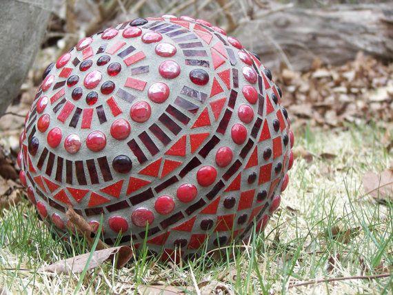 Mosaic Garden Ball (inspiration Only)