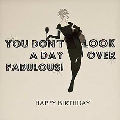 A fabulous birthday wish