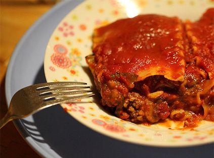 Jouw Gezonde Recepten   Verwarmende ovenschotel: lasagne van volkorenrijst met groentenmix