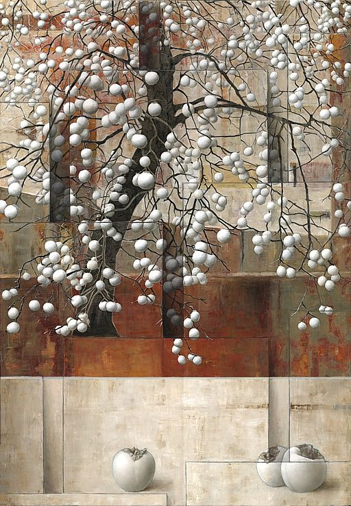 Sergio Cerchi - Albero - Tree: Trees Art, Art Paintings, Art Blanc, Albero Trees, Art I, Art Cuadro, 2 D Art, Trees Paintings, Sergio Cerchi
