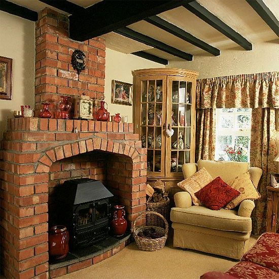 1000 ideas about living room mantle on pinterest family for Cottage living room furniture ideas