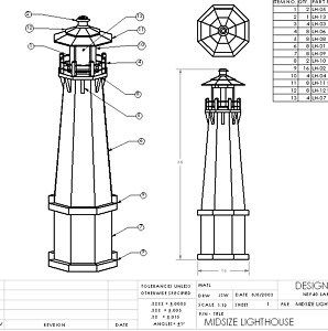 PDF Plans Wood Lighthouse Plans Download how to build wood
