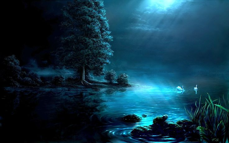 digitale landschaften   Digital Art Paintings : Fantasy Landscape Digital Paintings by Fel-X ...