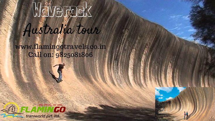 Visit Amazing destination of Australia, To visit Wave rock, Book australia tour packages.