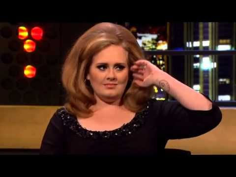 Adele - Interview The Jonathan Ross Show - 3rd September 2012