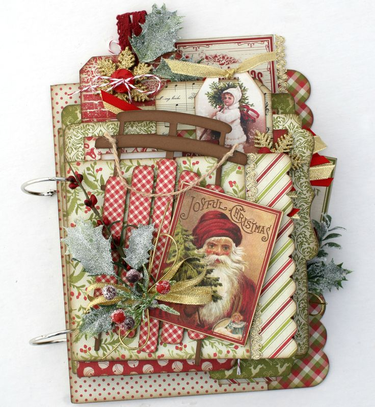 Magic of the Season Christmas Mini Album Kit