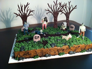 Pinterest Baby zombie cake 14