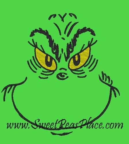 Grinch face | GRINCH | Pinterest