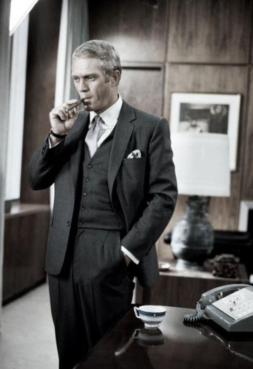 Steve McQueen en 'El caso de Thomas Crown' (1968)