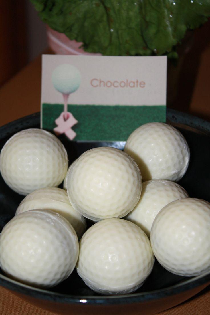 Golf Balls ~ Cake Pops ~ Golf ball Cake pops :)