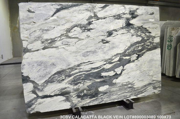 Calacatta Black Vein Marble Levantina Atlanta In 2019 Condo Remodel Marble Calacatta