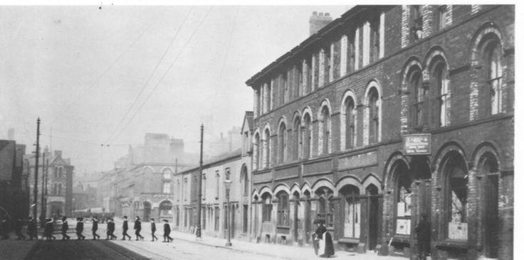 Original town centre in barrow in furness the strand