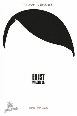 """""""Er ist wieder da"""" von Timur Vermes.  Inhalt: Hitler wacht im Jahr 2011 in Berlin auf und betrachtet somit die Gegenwart mit seine Augen. Böse, bitterböse. Ebenso nachdenklich stimmend, unglaublich lustig, allerdings mit einem Lachen, das einem oft im Halse stecken bleibt."""