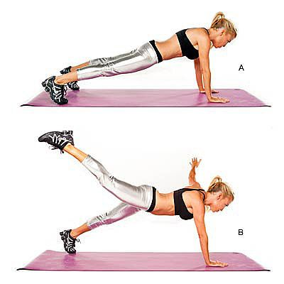 Tracy Anderson's Workout