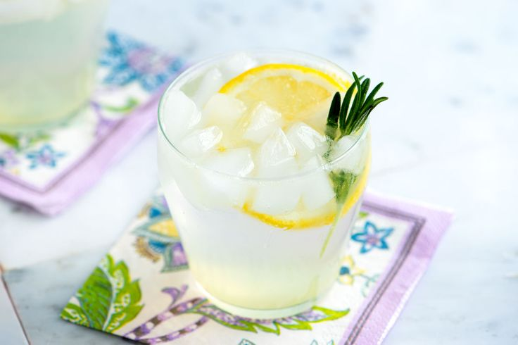Add an herbal spin to the classic gin fizz cocktail with fresh rosemary. See the easy recipe now!