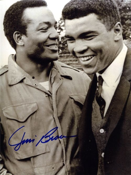 Jim Brown & Ali…Kings among men Two of the greatest.....