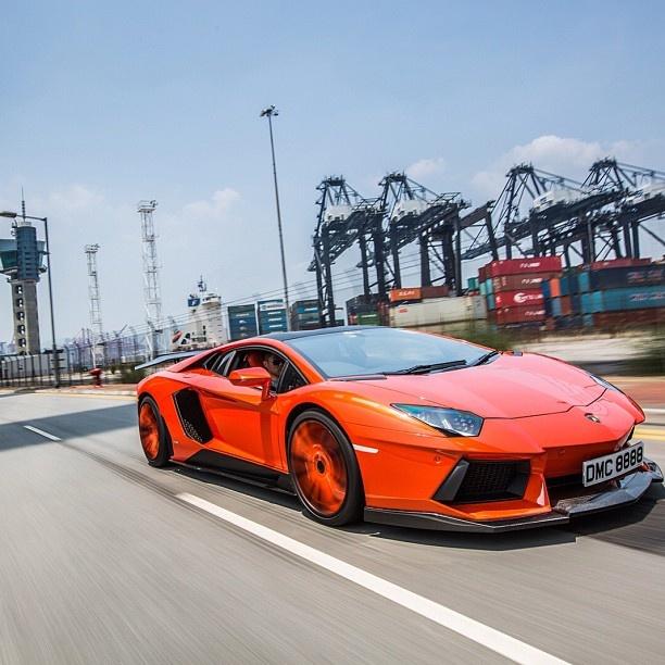 Lamborghini Aventador Molto Veloce By DMC Design
