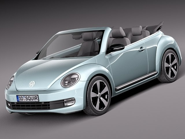 VW Beetle Convertible 2013