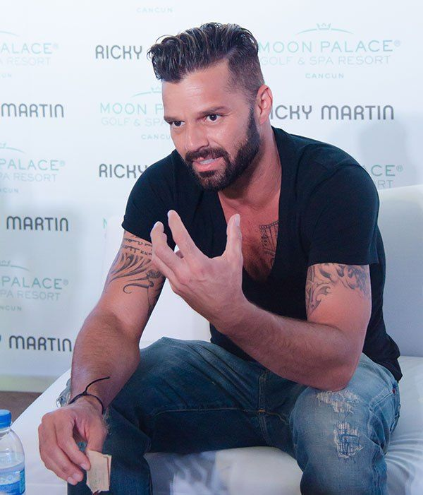 Ricky Martin Performs at Moon Palace – Ricky Martin and Jennifer Lopez Duet | OK! Magazine