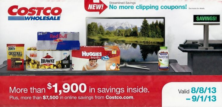 Costco Coupon Book – August 8 – September 1, 2013 – Coupons, Online Sales, Deals