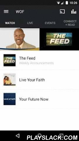 Word Of Faith  Android App - playslack.com ,  Our purpose is to help people experience the Future God has for them. This app provides access to life-changing audio and video messages, insightful blog entries, dally devotionals and relevant information about Word of Faith. Additionally, you can also share content with your friends via Twitter, Facebook and email. For more information on Word of Faith, please visit: http://wordoffaith.ccFor more information about Word of Faith Int'l Christian…