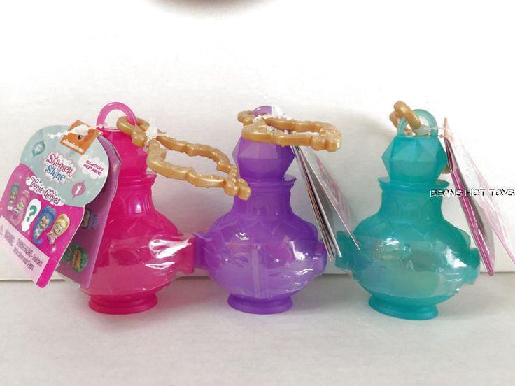 3 Shimmer and Shine Teenie Genies Surprise Mystery Bottles NEW #FisherPrice